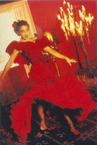 Madona La Isla Bonita Vestido Vermelho Madonna Costume Madonna True Blue Madonna
