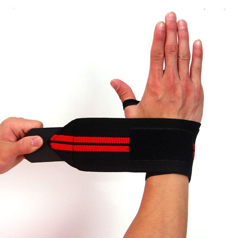 Gewichtheben Handgelenk Wraps Bandage Hand Unterstützung GYM Straps Sport Grip..