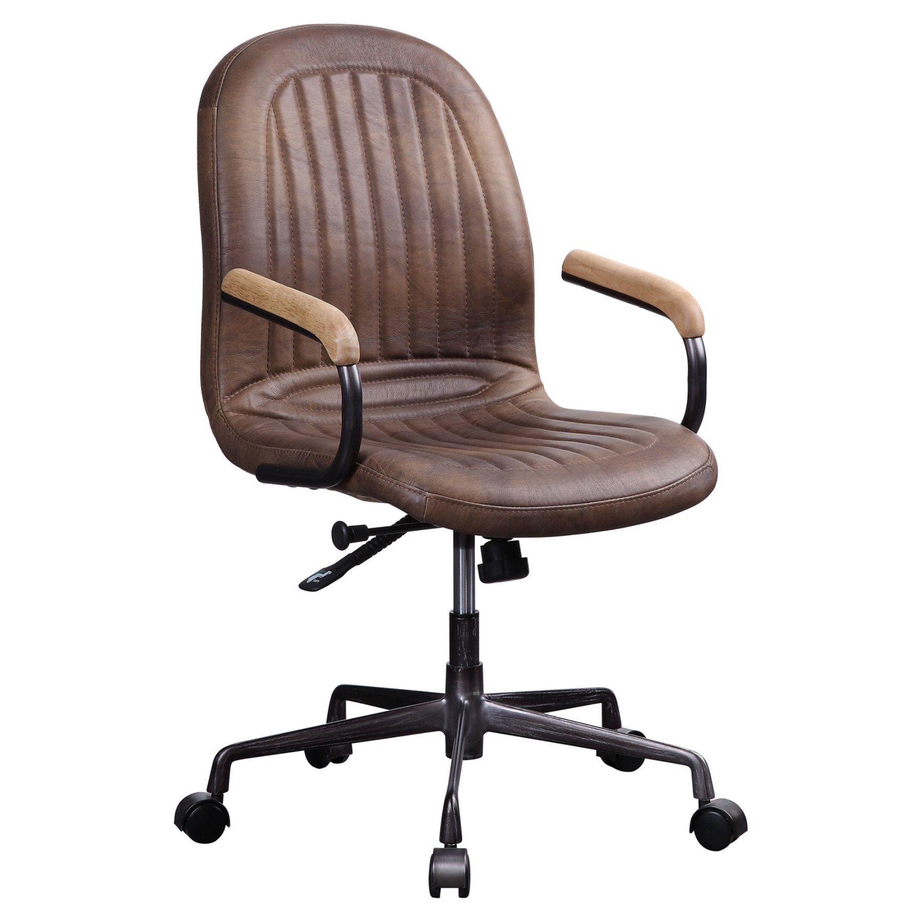 Acme Furniture Acis Leather Executive Office Chair Executive