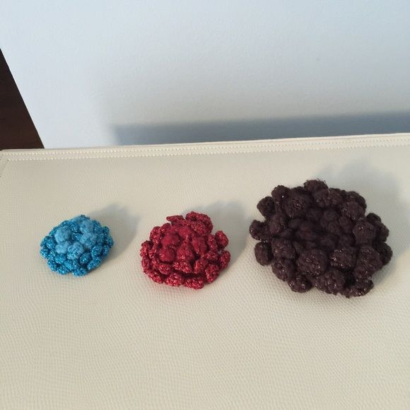 Crochet Brooches Crochet Brooches-3 BCBG Jewelry Brooches