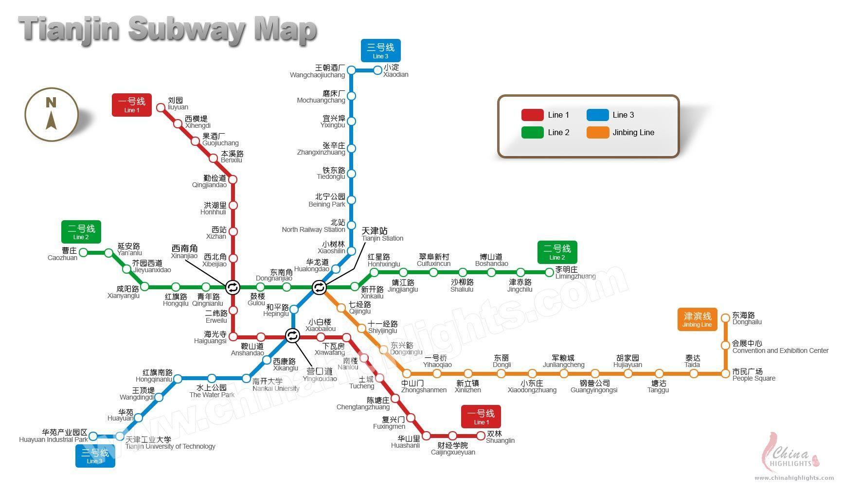 Tianjin Subway Map.Tianjin Subway Map Subway China Map Map Subway Map