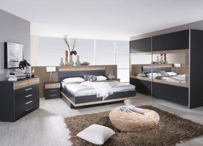 Eiche Schlafzimmer ~ Schlafzimmer mit bett cm eiche sanremo hell alpinweiss