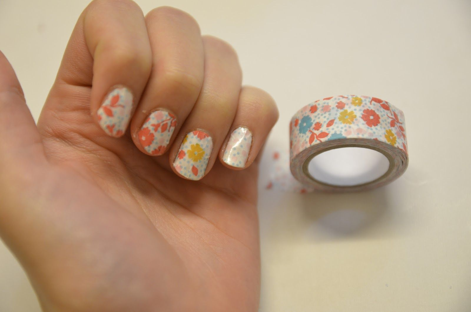 mangelmoes: DIY | washi tape nails | Beauty to DIY and Try ...
