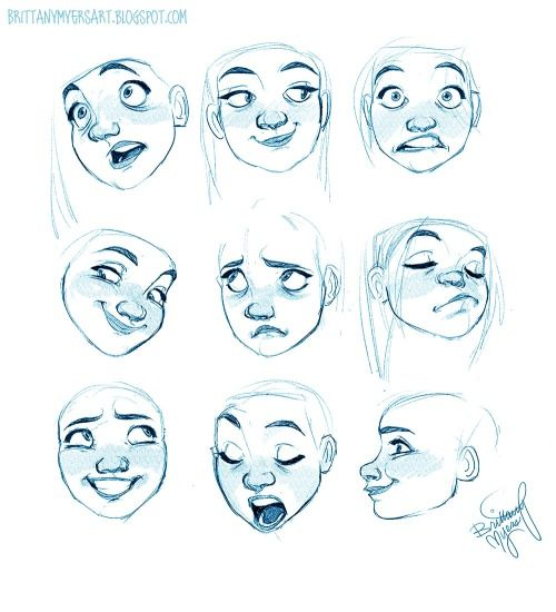Help Me Draw Drawing Expressions Character Design Character Drawing