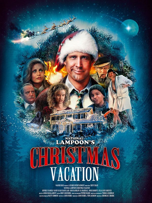 National Lampoon's Christmas Vacation: Richard Davies | Movie Art ...