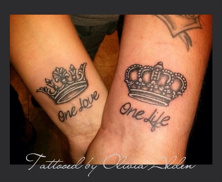 My Wheels Are Turning One Love One Life Tattoos Queen
