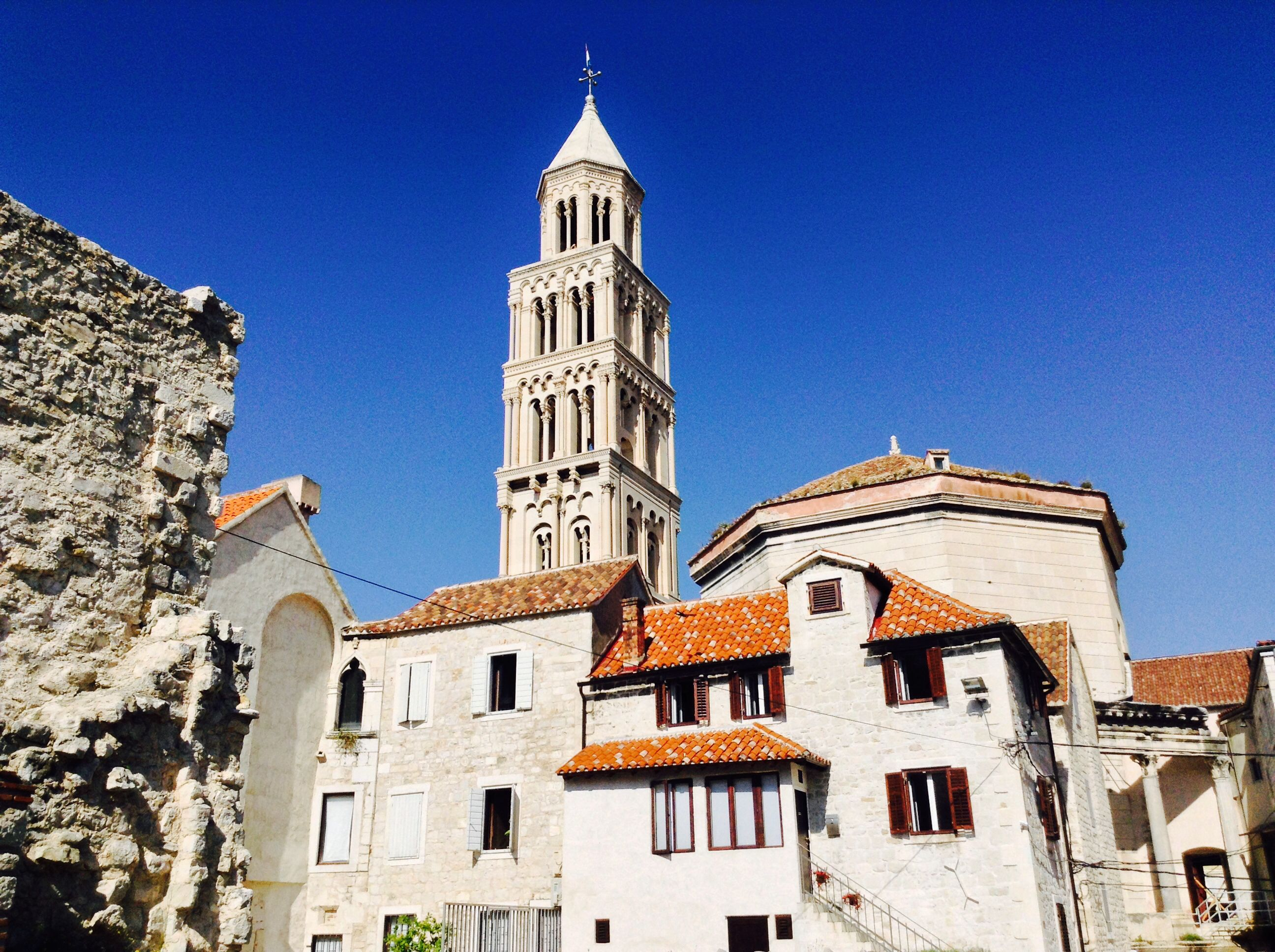 Split, Croatia Old town, Cathedral.