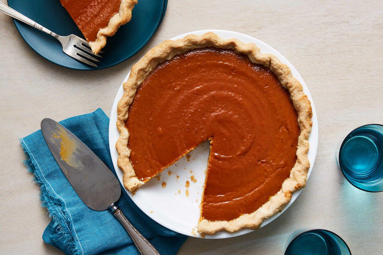 Spiced Pumpkin Pie Recipe Nyt Cooking Pumpkin Pie Pumpkin Pie Recipes Perfect Pie Crust Recipe