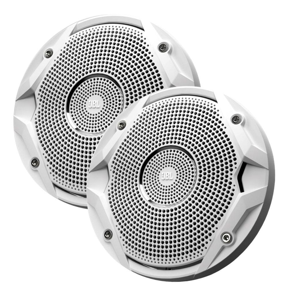 "JBL MS6510 150W, 6.5"" Dual Cone Marine Speakers - (Pair) White"