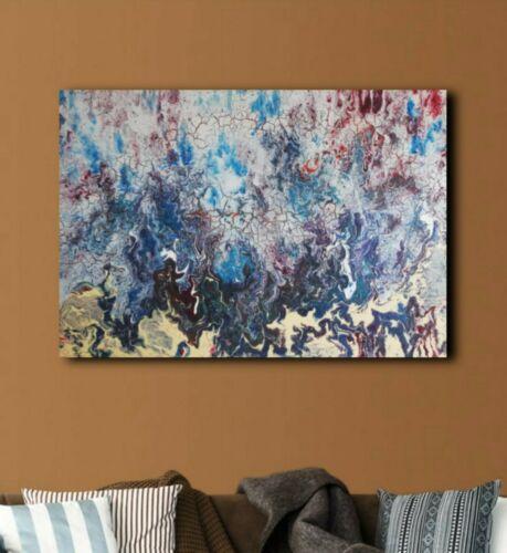 gemalde landschaft modern abstrakt ol struktur 70x100cm kunst handgemalt ebay painting art tapestry wandbilder moderne gemalte bilder