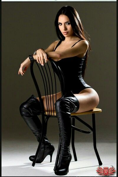 c260b22252 Black corset thigh high black boots