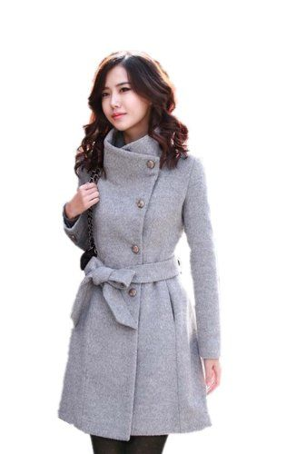 Huafeng Slim Thick Woolen Trench Coat Outerwear Womens - List price: $139.00 Price: $89.00.... Prettii yet classy and affordable
