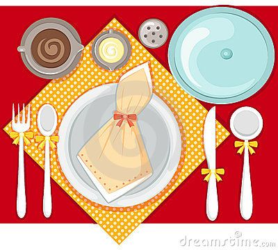 Pichayasri Table Settings Free Clip Art Free Clipart Images