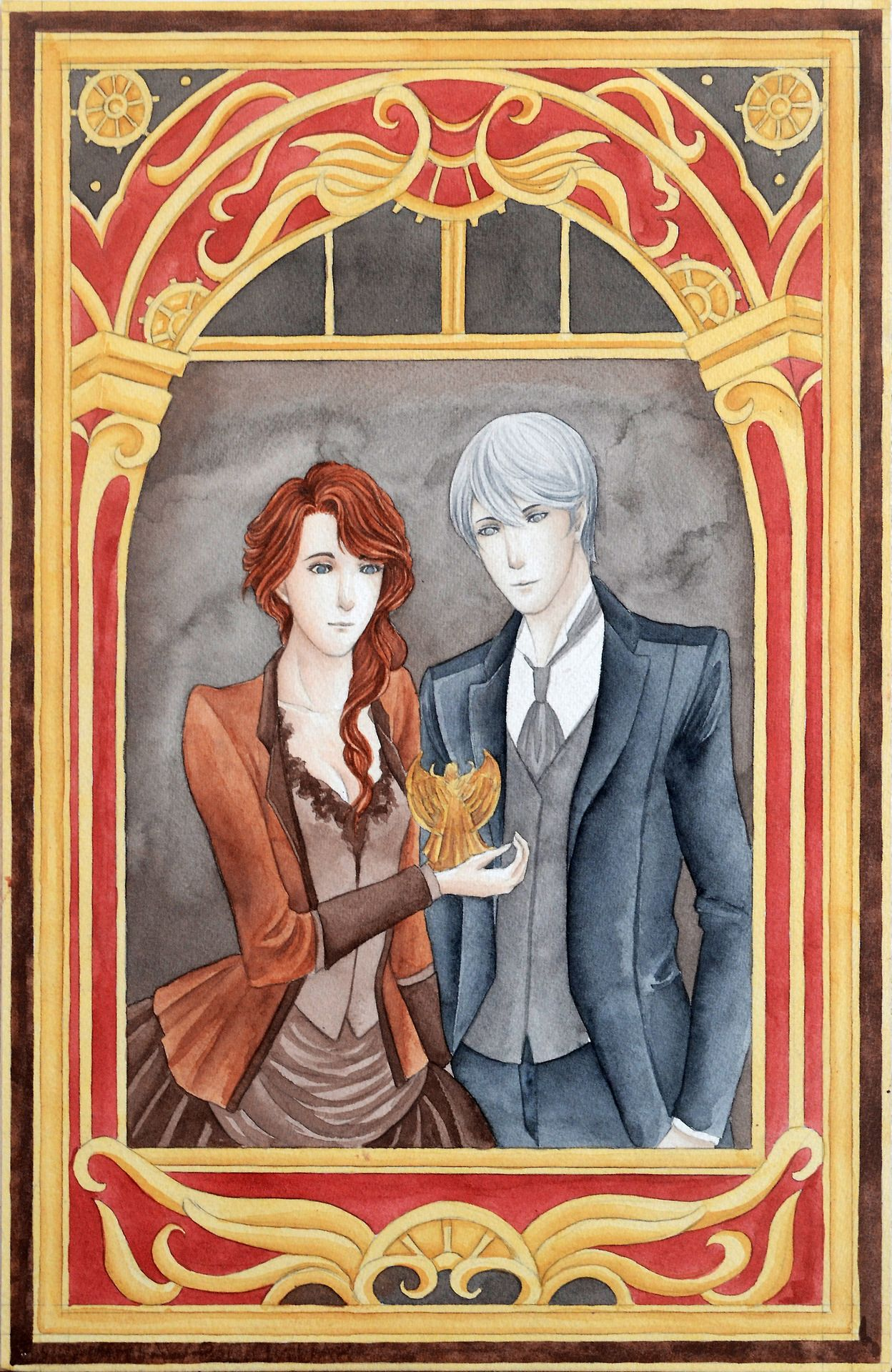 Sheehanmebaby.tumblr.com - Tessa Gray and Jem Carstairs from The Infernal Devices by Cassandra Clare