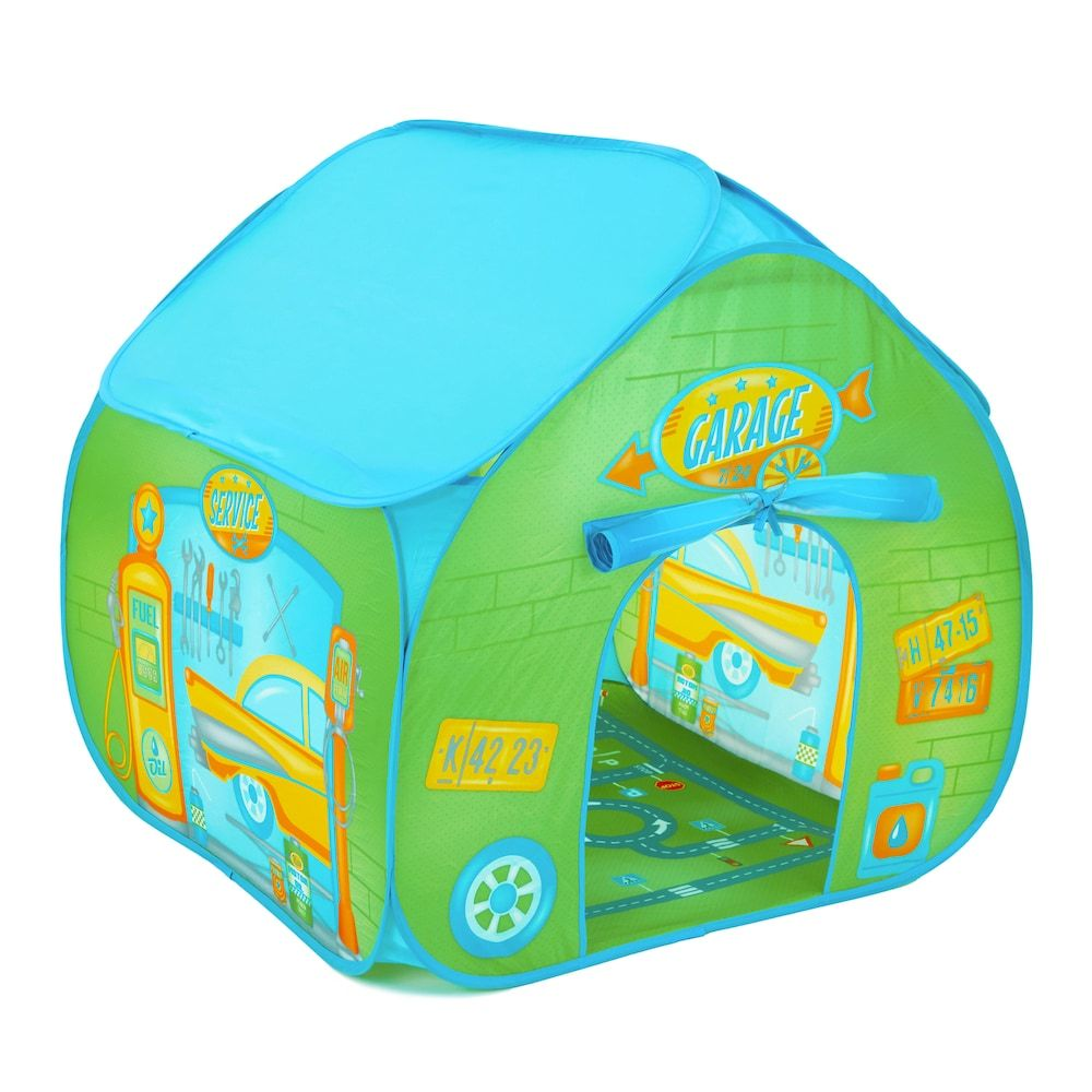 Fun2Give Pop-It-Up Garage Retro Play Tent with Mat Multicolor  sc 1 st  Pinterest & Fun2Give Pop-It-Up Garage Retro Play Tent with Mat Multicolor ...