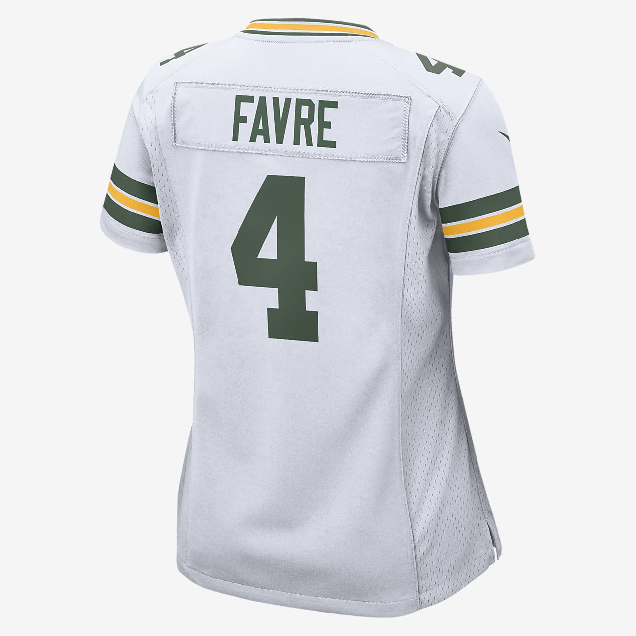 d27878f65 Nike Nfl Green Bay Packers (Brett Favre) Women s Football Home Game Jersey  - XS