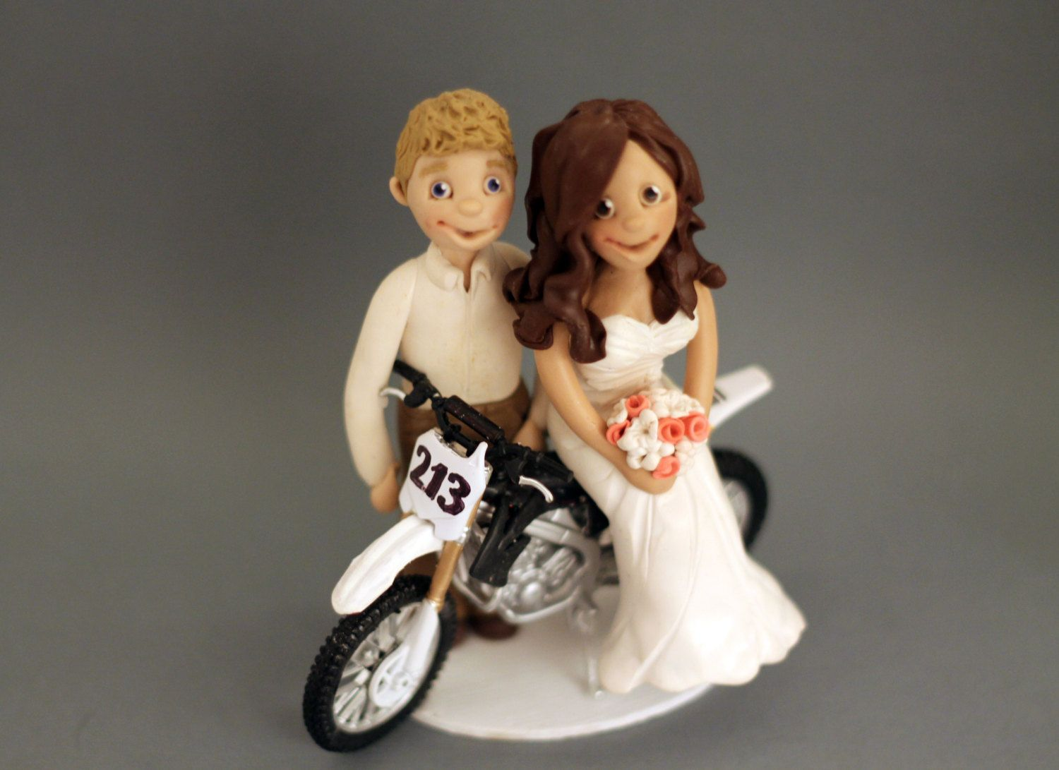 Custom+dirtbike+wedding+cake+topper++by+cherryredtoppers+on