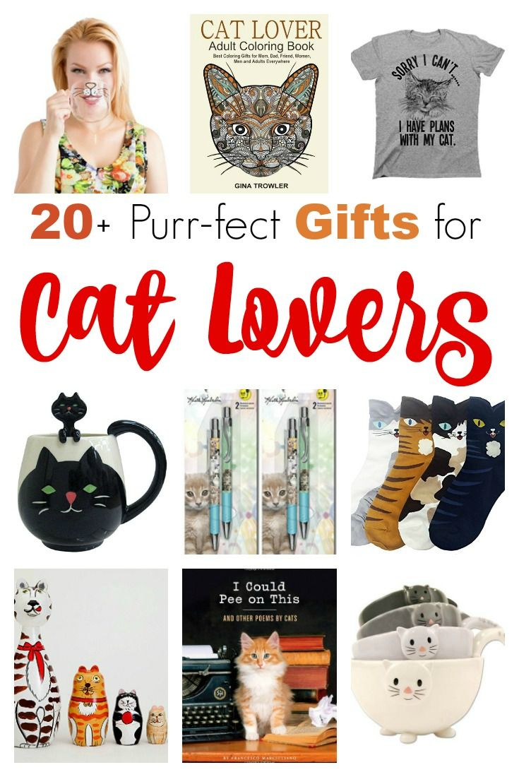 Check Out More Than 20 Gifts That Are Purr Fect For Cat Lovers These Ideas Will Make Holiday Shopping So Easy
