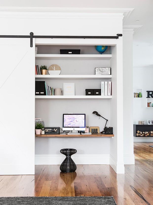 15 Small Office Nooks That Work Hard Home Office Space Home
