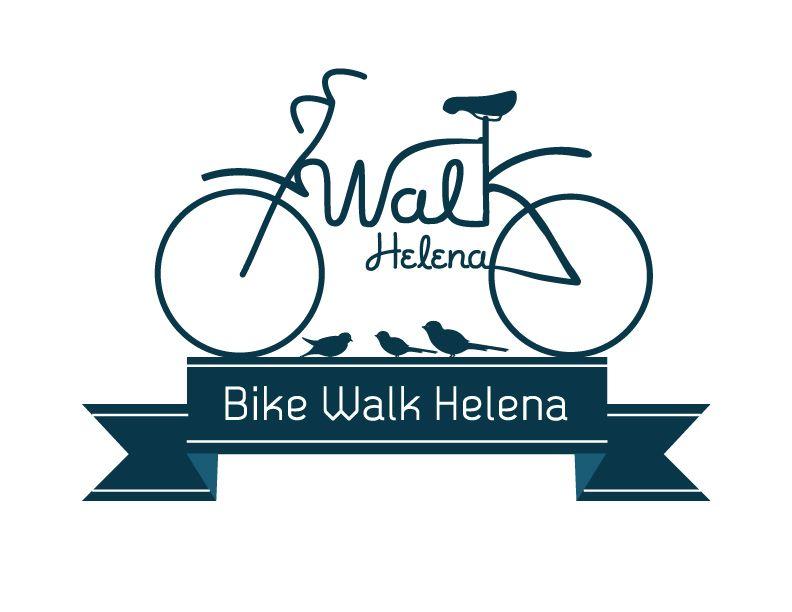 Bike Walk Helena Brands Of The World Branding Design Logo
