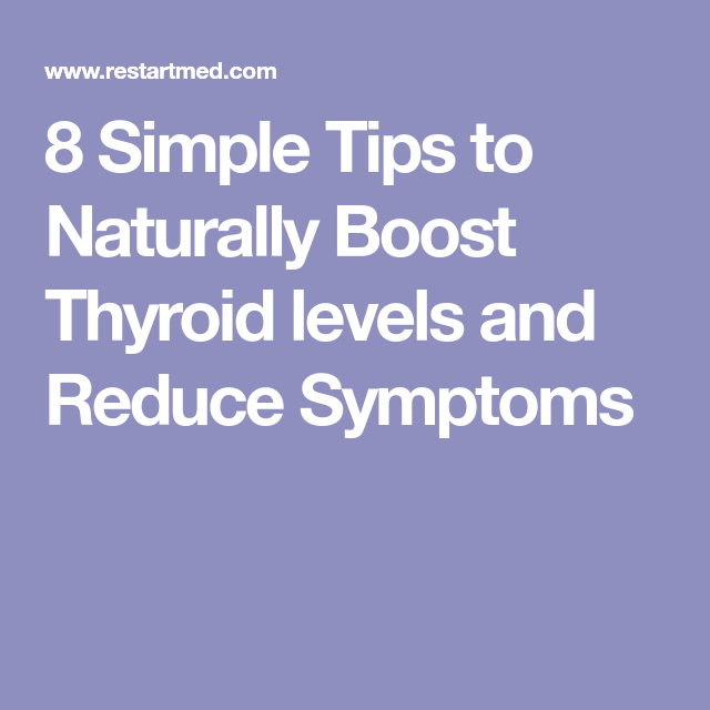 how to increase t4 levels naturally