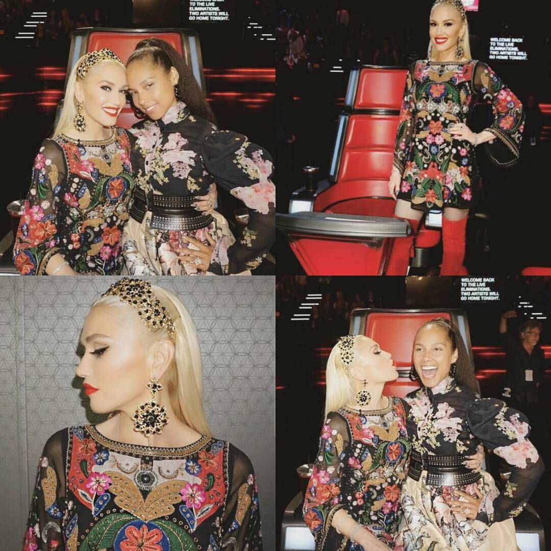 """43 Likes, 1 Comments - Gweη Stefaηi Italiaη Faη Page. (@thequeenofawesome_gx) on Instagram: """"@gwenstefani #TheVoice #TeamGwen ♡"""""""