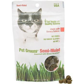 Our oldest LOVES these Pet Greens Semi-Moist Cat Treats $3.74 each @Petco