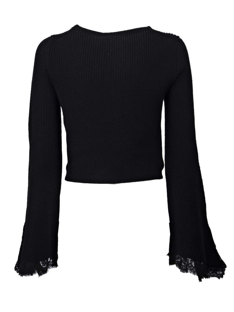Ermanno Scervino boat neck sweater Outlet Sale WaNAL