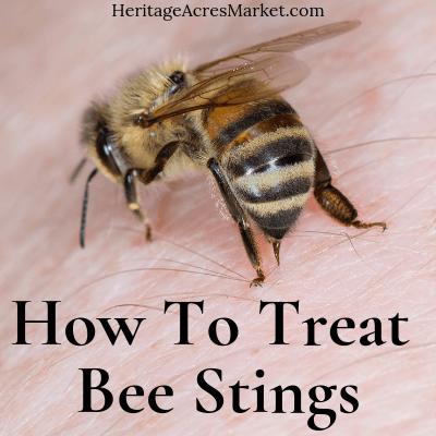 Comment traiter une piqûre d'abeille »Heritage Acres Market LLC   – Health route.