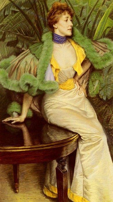 The Princesse de Broglie, James Tissot