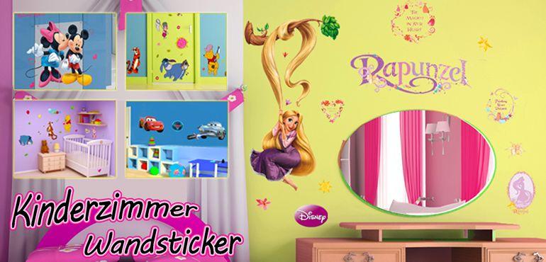 Ideal Kinderzimmer Wandtattoos und Wandsticker bekannte Wandaufkleber im online Shop http