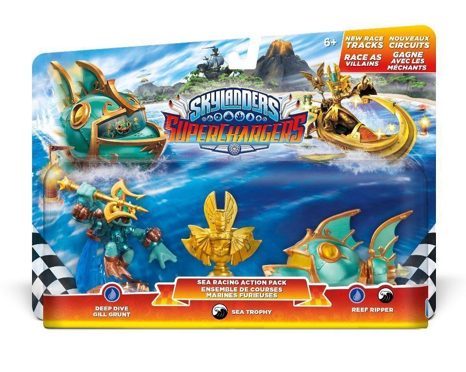 Skylanders SuperChargers Sea Racing Pack Action Toy Pack