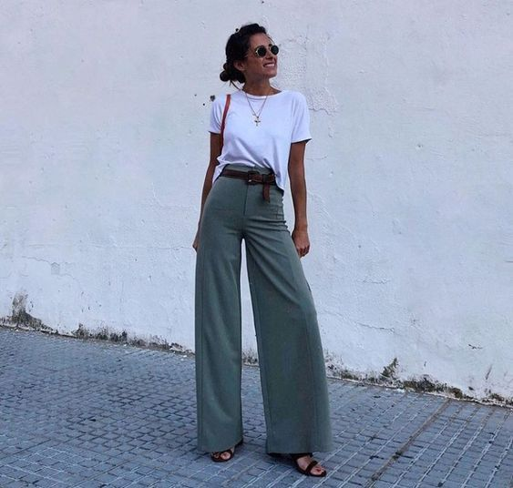 How to Style a Basic White T-Shirt For The Office – LLEGANCE