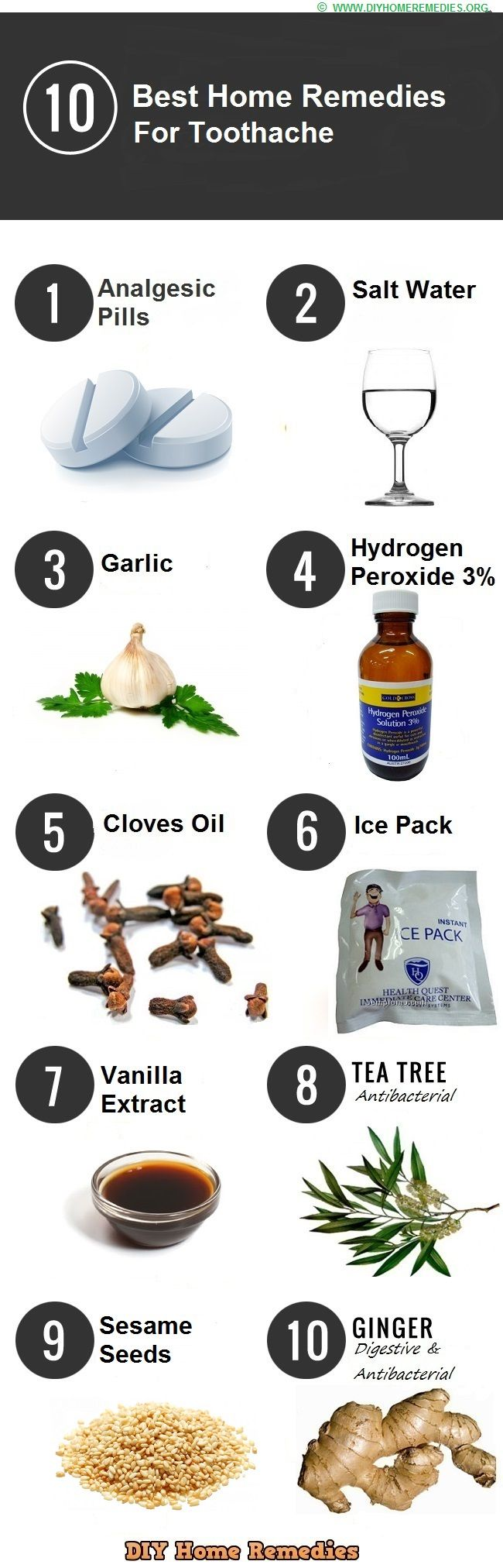 10 best home remedies for toothache | home remedies | pinterest