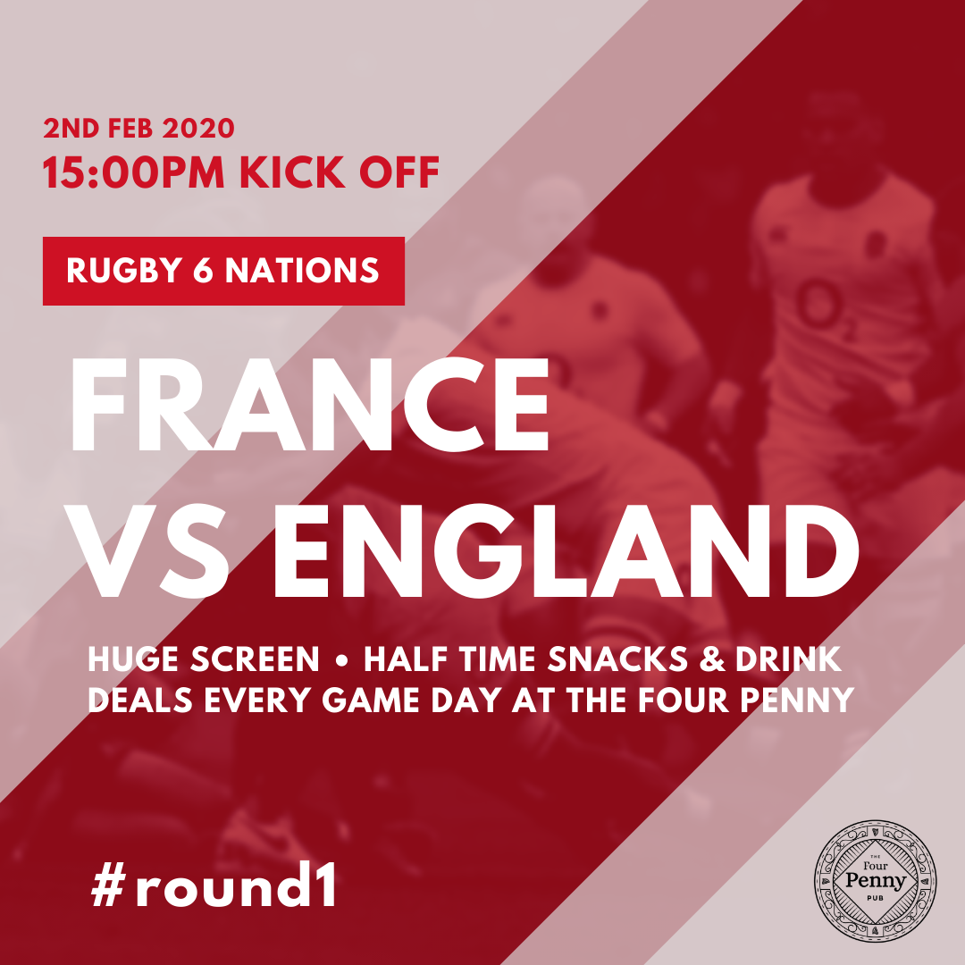 RUGBY 6 NATIONS 🏉 Today's Listing ⏰1500pm FRANCE Vs