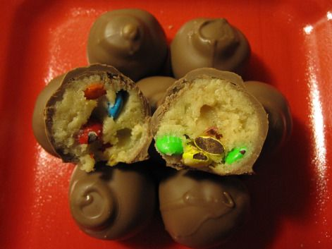 M cookie dough truffles :)