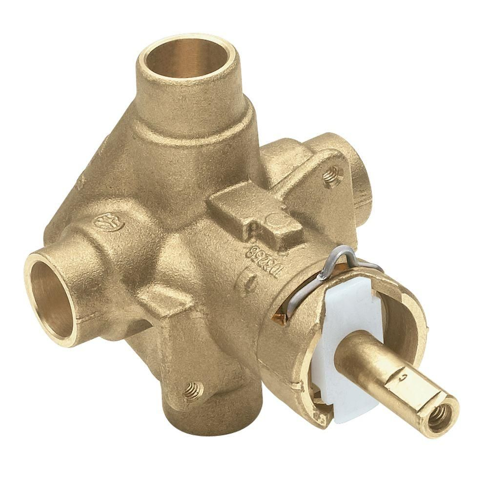 Brass Roughin Positemp Pressurebalancing Cycling Tub And Shower Best Home Depot Moen Bathroom Faucets Decorating Design