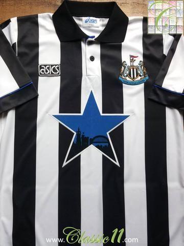 los angeles 98c1f f1671 1993/94 Newcastle United Home Football Shirt (XL) | Just ...