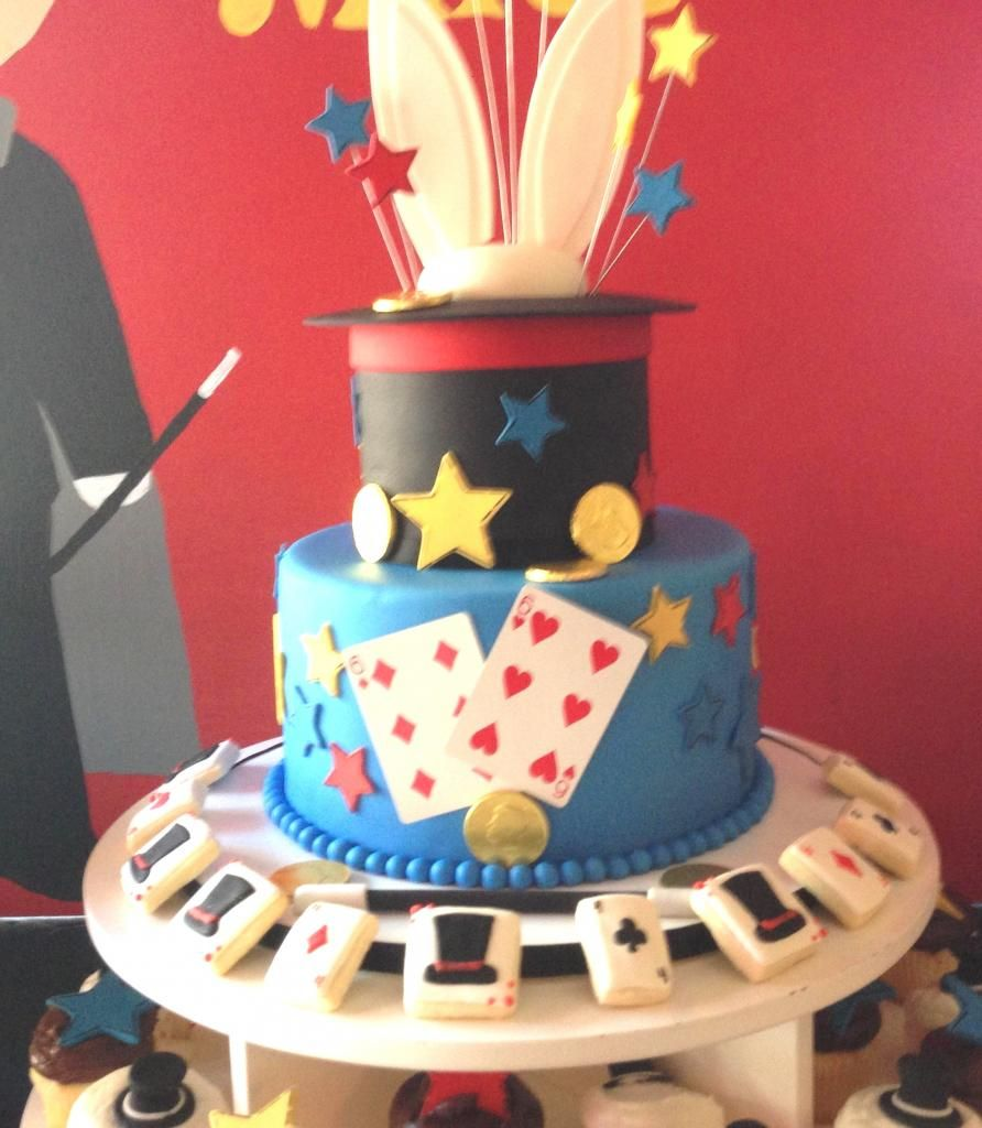 Magic Themed Cake | Cakes | Pinterest | Blog, Themed cakes and ...