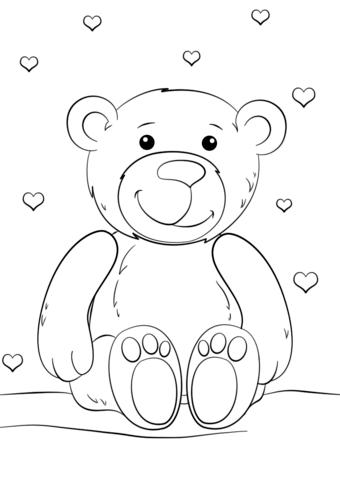 Teddybar Ausmalbilder Ausmalbild Teddybr Ausmalbilder Kostenlos Zum Ausdrucken