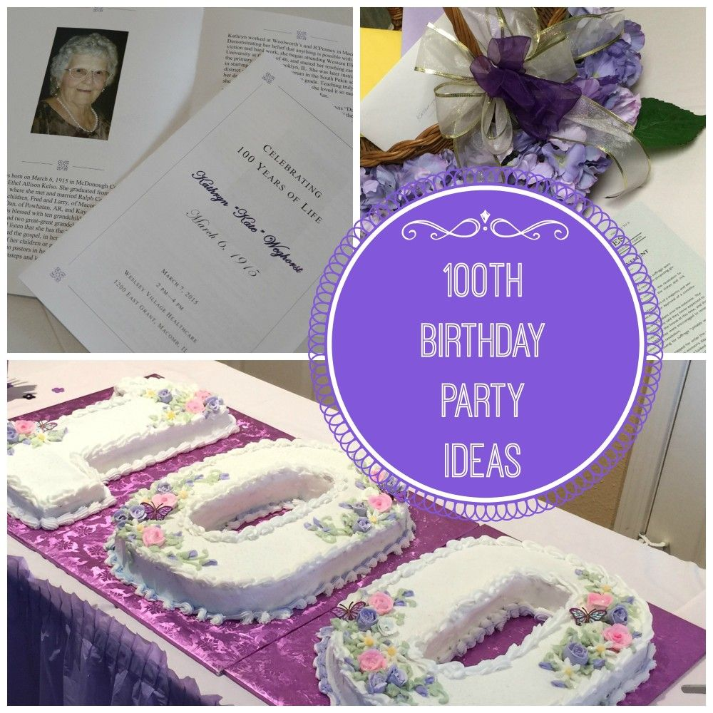 Celebrating A Once In A Lifetime Event With My Grandmother Join Me Today As I Am Sharing 100th Birthday In 2021 100th Birthday Party 100th Birthday 100 Birthday Gifts