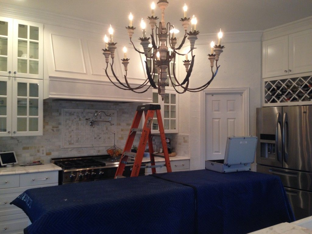 Chandelier Installation Tlc Electrical Have A Beautiful To Install