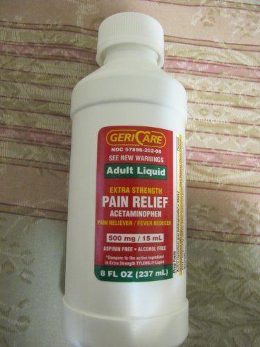 liquid strength adult Acetaminophen