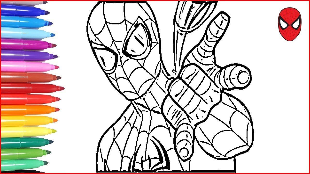 Orumcek Adam Spiderman Boyama Renkleri Ogreniyorum Eglenceli Spiderman Boyama Kitabi 2020 Boyama Kitaplari Renkler Cizim