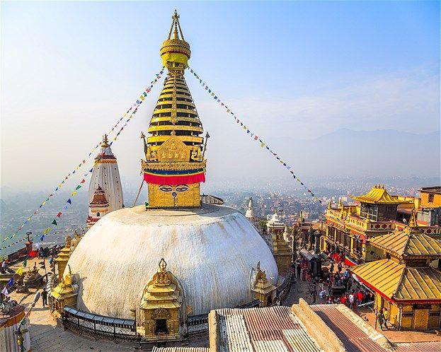 Imagen: Swayambhunath Stupa (© Feng Wei Photography/Getty Images)