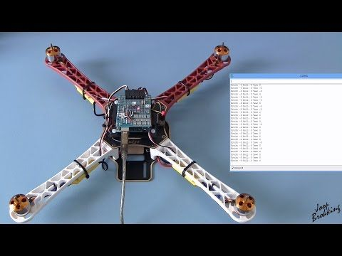 Build your own self-leveling Arduino quadcopter