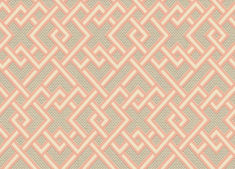 Arthouse Geometric Yellow White Diamond Geo Lattice Wallpaper 908301