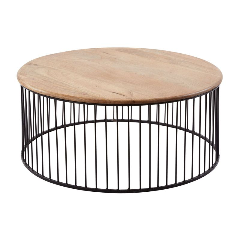 We Love The Circular Wire Frame Around The Base Of This Table, Giving It  Classic