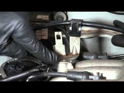 Xterra Knock Sensor Relocation P0325 Code Nissan Xterra Nissan Sensor