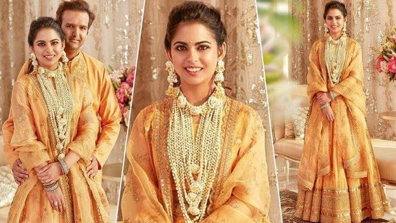 Isha Ambani Looks So Beautiful with Hubby Anand Piramal